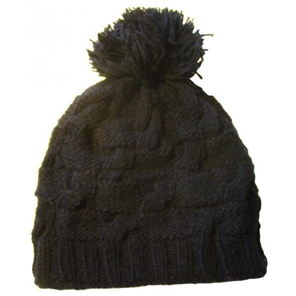 style le plus récent moins cher plutôt cool bonnet /bonnet népalais/ bonnet pompom /bonnet artisanal/ bonnet noir/  bonnet mixte