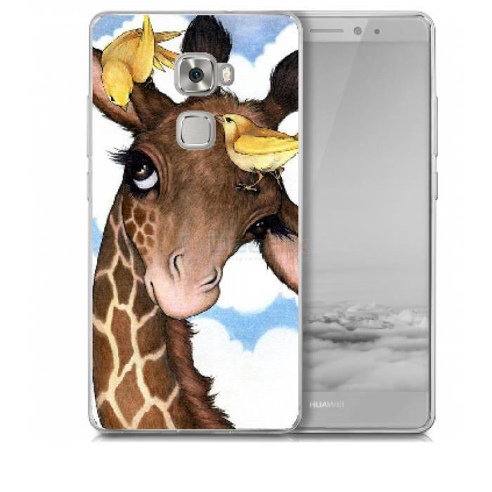coque huawei mate 8 girafe