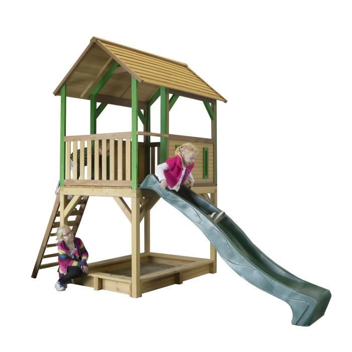 MAISONNETTE EXTÉRIEURE AXI maison enfant exterieur en bois Pumba