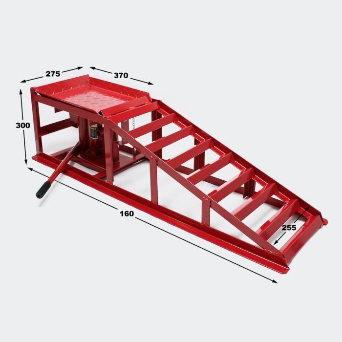 rampe de levage 2000 kg avec crics hydrauliques achat vente pont d 39 atelier rampe de levage. Black Bedroom Furniture Sets. Home Design Ideas