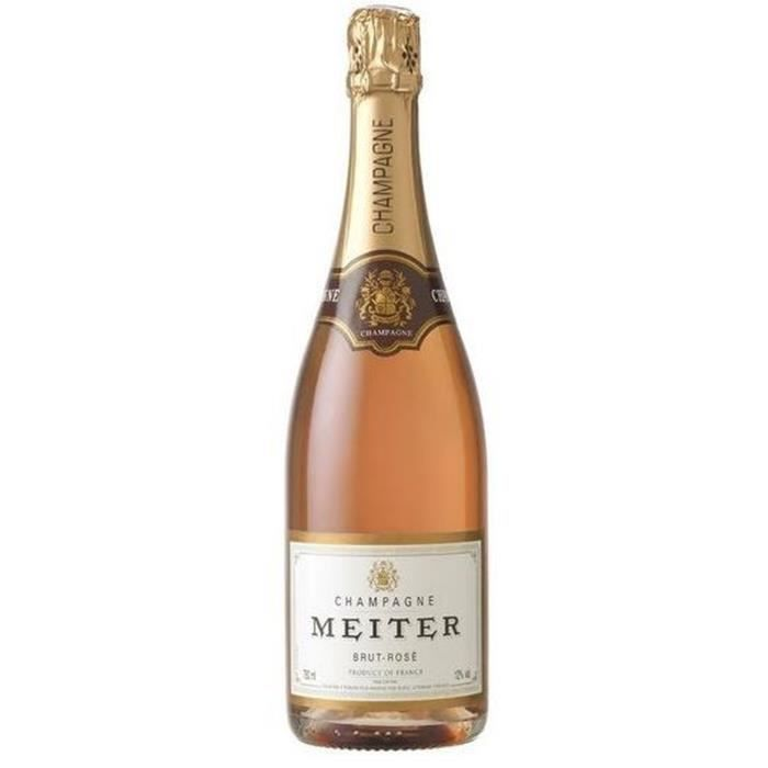 CHAMPAGNE Meiter Champagne - Rosé - 75 cl - 12 %