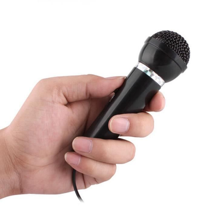 Desktop Singing Net Chat Ktv Discours Microphone Mic Fixation Du Support _ly35