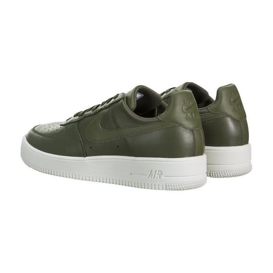 low cost b4d85 12a41 NIKE AIR FORCE 1 ULTRAFORCE LEATHER HOMME 845052-201 OLIVE OLIVE  MOYEN N OLIVE MOYEN - Achat   Vente basket - Cdiscount