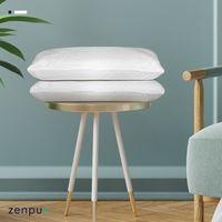 ZenPur - Lot de 2 Oreillers Fibre de Bambou Bio à