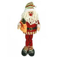 VILLAGE - MANÈGE Santa Claus Snow Man Elk Doll Décoration de Noël A