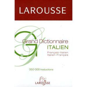 DICTIONNAIRES Grand Dictionnaire Français-Italien Italien França