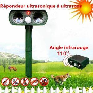 RÉPULSIF NUISIBLES MAISON Ultrasonique pour animaux, Répulsif à ultrasons Ré