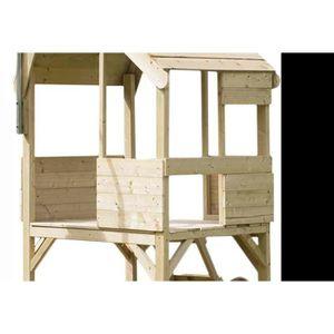 MAISONNETTE EXTÉRIEURE Maisonnette pour enfants en bois sur piloti Forest