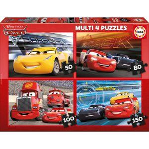 PUZZLE EDUCA - Multi Puzzles CARS 3