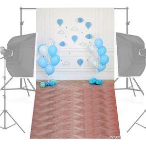 FOND DE STUDIO Andoer Photographie Fond Ballon Papier Poms Infant
