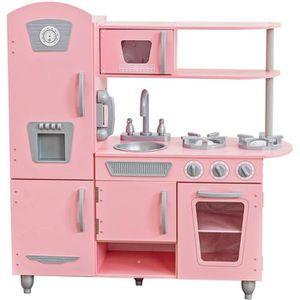 DINETTE - CUISINE KIDKRAFT Cuisine Enfant Vintage Rose