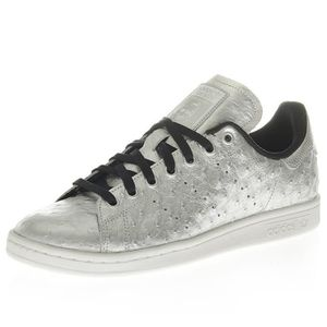 BASKET Chaussures Stan Smith Gris Brillant Homme Adidas