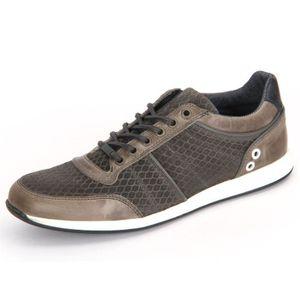 BASKET Chaussures Bullboxer 132 K2 3768Y Msgnsu Grey Lede