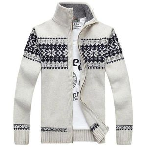 GILET - CARDIGAN Gilet Tricot Homme Cardigan Jacquard Casual Col Mo 58ea2c892d9