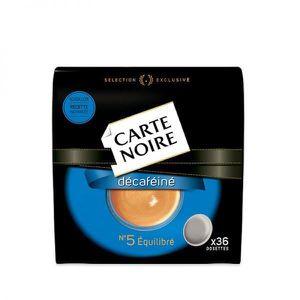 CAFÉ - CHICORÉE Dosette Senseo® Compatible Décaféiné N°5 Carte Noi