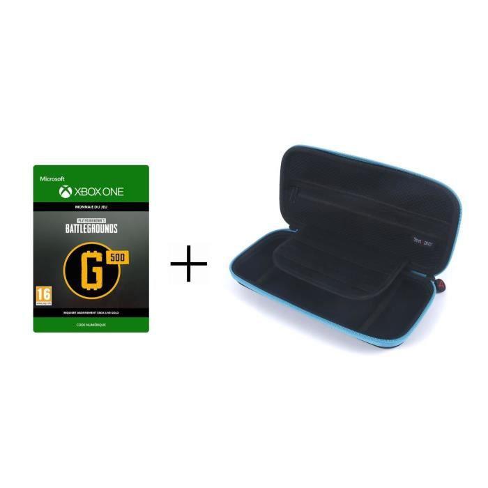 PACK - Housse de Transport SteelPlay pour Switch Lite + DLC PlayerUnknown's Battlegrounds : 500 G-Co
