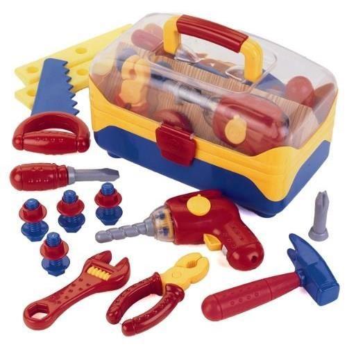 KLEIN - Caisse à outils complète + perceuse