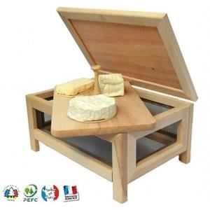 fromager garde manger avec plateau fromage e achat vente boites de conservation fromager. Black Bedroom Furniture Sets. Home Design Ideas