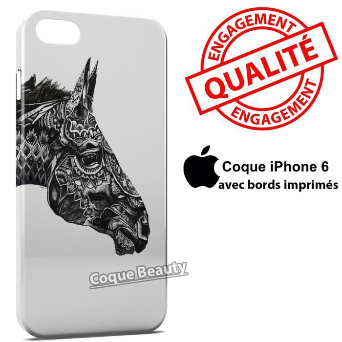 coque cheval iphone 6