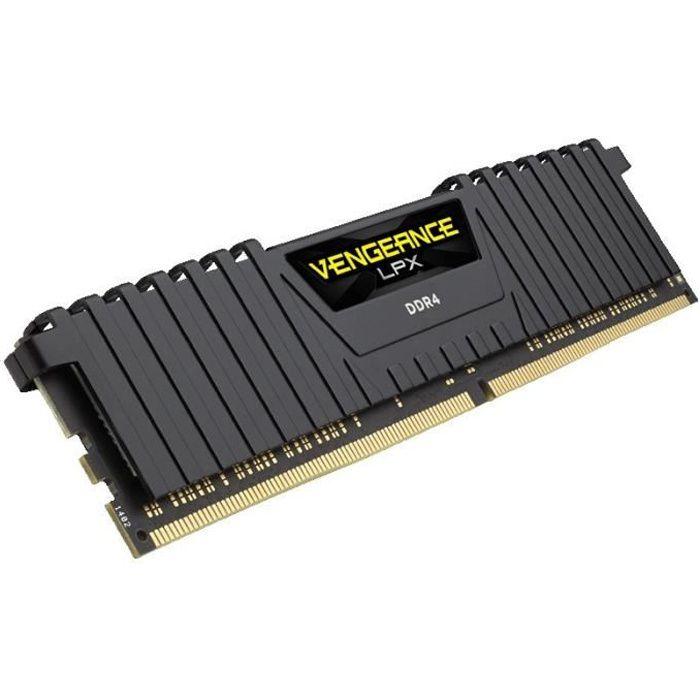 MÉMOIRE RAM CORSAIR Mémoire PC DDR4 - Vengeance LPX 8 Go (1 x