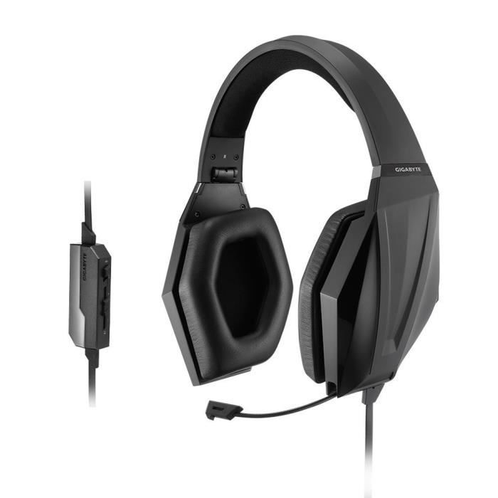 CASQUE AVEC MICROPHONE Casque gaming Gigabyte Force H3
