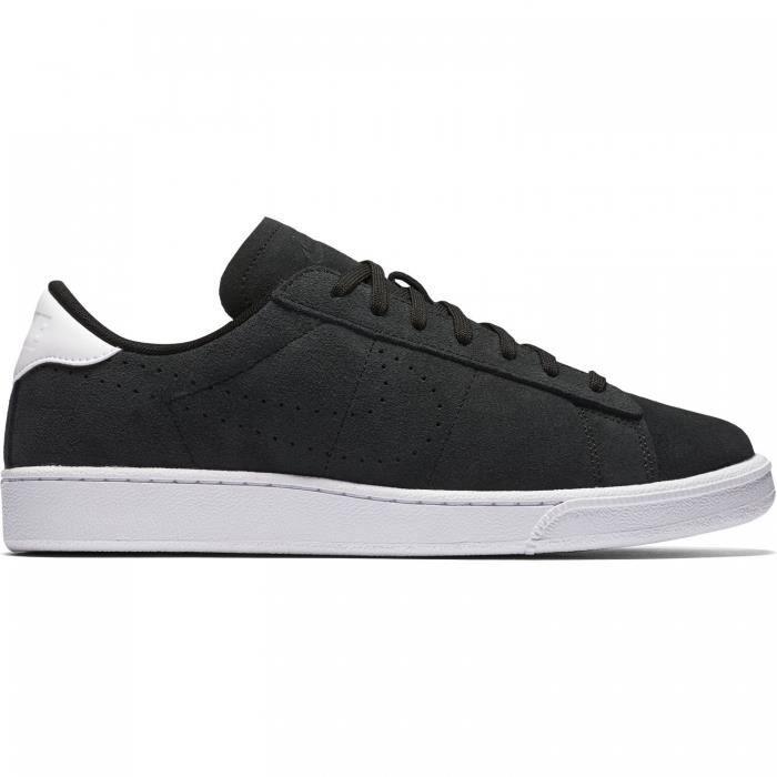 Nike - Baskets pour Homme - Tennis Classic CS Suède - Noir Noir Noir ... c913aed58273