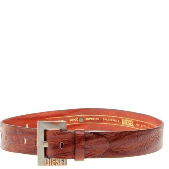 a1057996f21 Biroc Homme Ceinture Marron Diesel Marron Marron - Achat   Vente ceinture  et boucle - Cdiscount