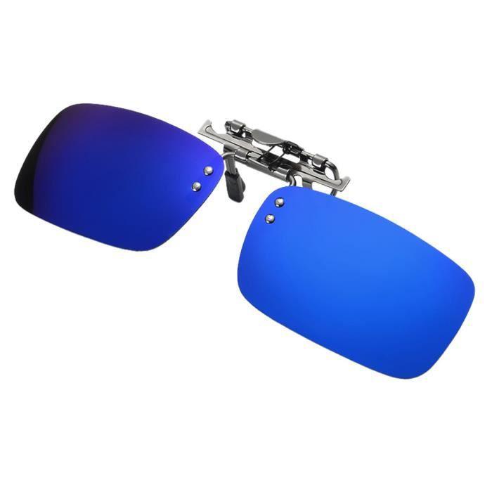 verres métal polarisé nocturne vision conduisant zf582 le sur Lentille soleil de de des Deuxsuns® de clip lunettes par détachable TwBS4q