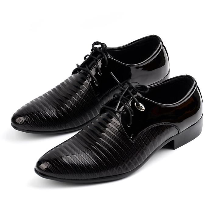 Modern Lace-up Tuxedo Dress Shoes Casual Oxfords LLMI3 Taille-45