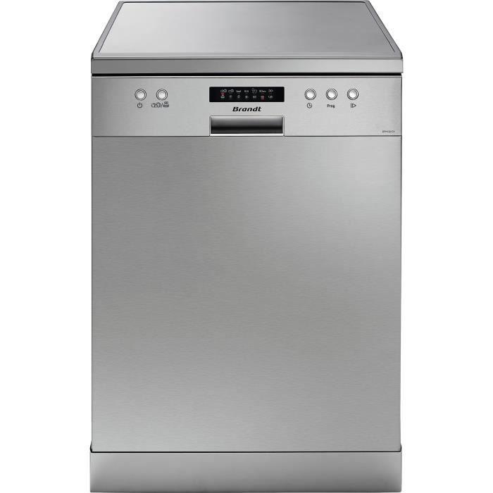 BRANDT DFH13217X - Lave vaisselle posable - 13 couverts - 47 dB - A++ - Larg 60 cm