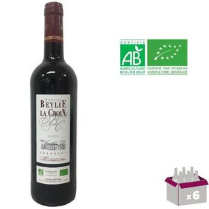 VIN ROUGE Château Beylie La Croix 2017 Bordeaux - Vin rouge