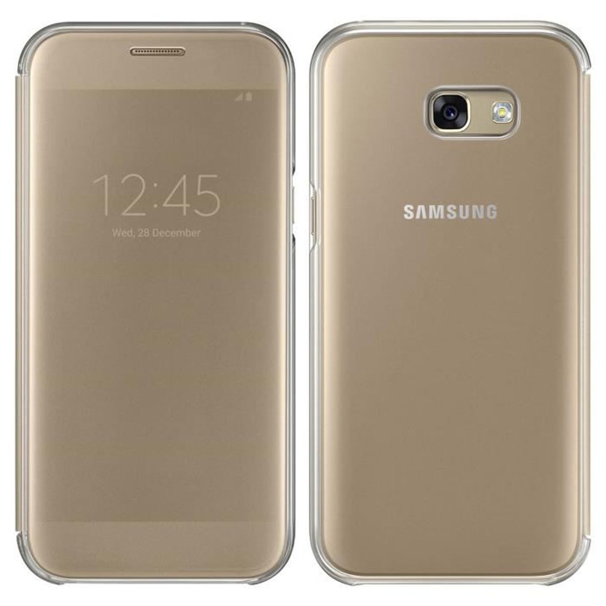 samsung etui s view cover galaxy a5 2017 achat vente. Black Bedroom Furniture Sets. Home Design Ideas