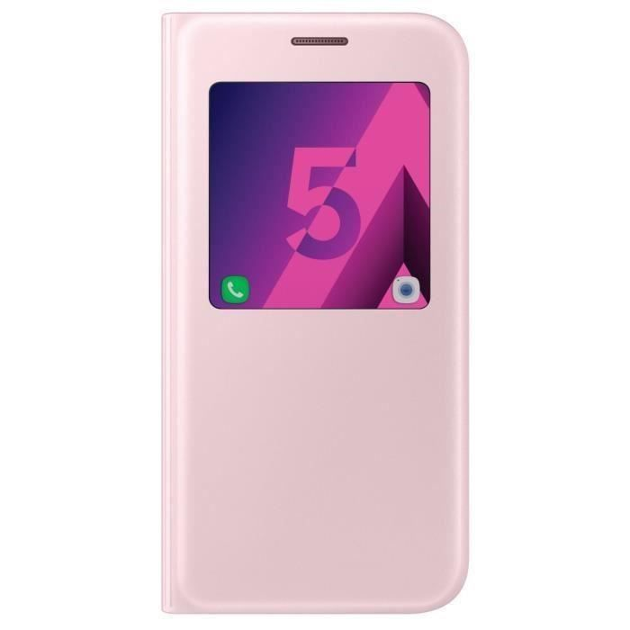 samsung etui s view cover galaxy a5 2017 achat vente pas cher. Black Bedroom Furniture Sets. Home Design Ideas