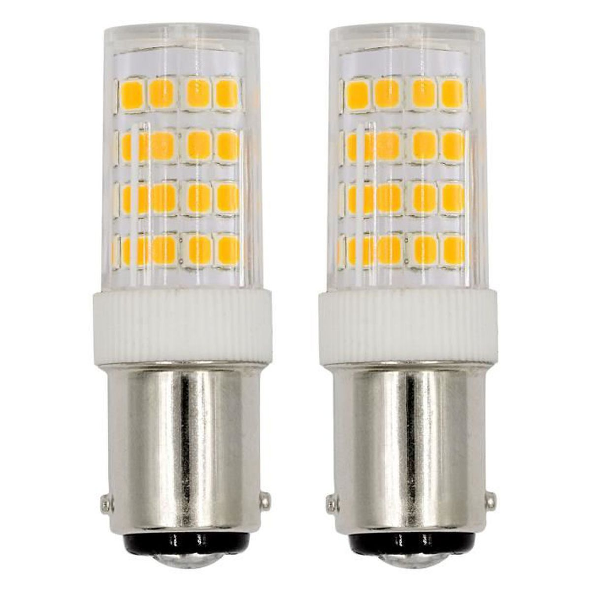220 B15d Smd 52x2835 2pcs 240v Led Froid 5w Ac Mengs® Ampoule Blanc 2DYWHE9I