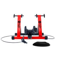 HOME TRAINER Velo Pro Home Trainer Turbo Magnétique - Rouge