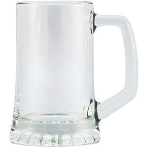 Verre à bière - Cidre Lot 4 Chopes à bière Artisan 32 cl transparent