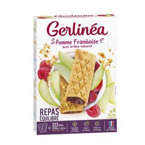 SUBSTITUT DE REPAS GERLINEA Barres substitut de repas fourrées pomme