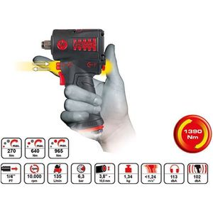 CLE A CHOC Mini clé à chocs pneumatique MONSTER édition 1390