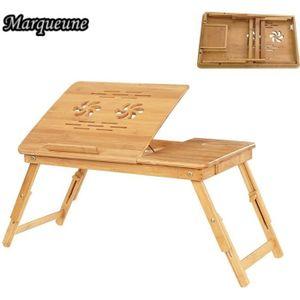 SUPPORT PC ET TABLETTE Plateau de Lit Pliable, Marqueune Table Portable p