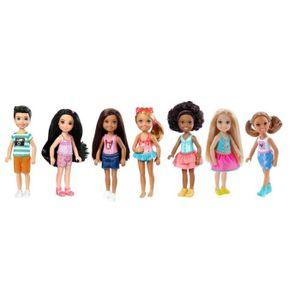 POUPÉE Mattel Poupée-Barbie Chelsea et Amis-Assortiment,