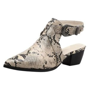 DERBY Mode femme Chaussures à bout pointu Serpentine tal