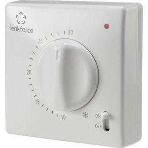 THERMOSTAT D'AMBIANCE Thermostat intérieur en saillie renkforce TR-93 pr