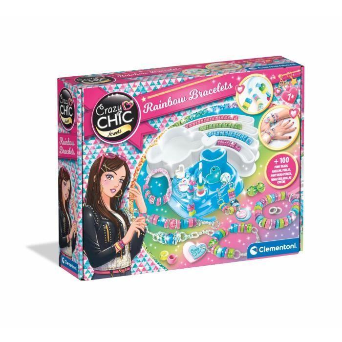 CLEMENTONI - Création de Bracelets multicolores - Jeu Créatifs (Perles)