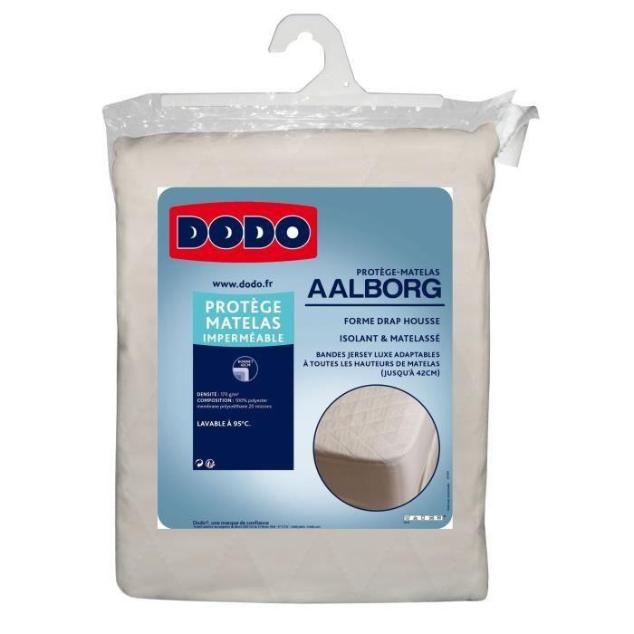 DODO Protège matelas Aalborg - Matelassé et imperméable - 180x200 cm