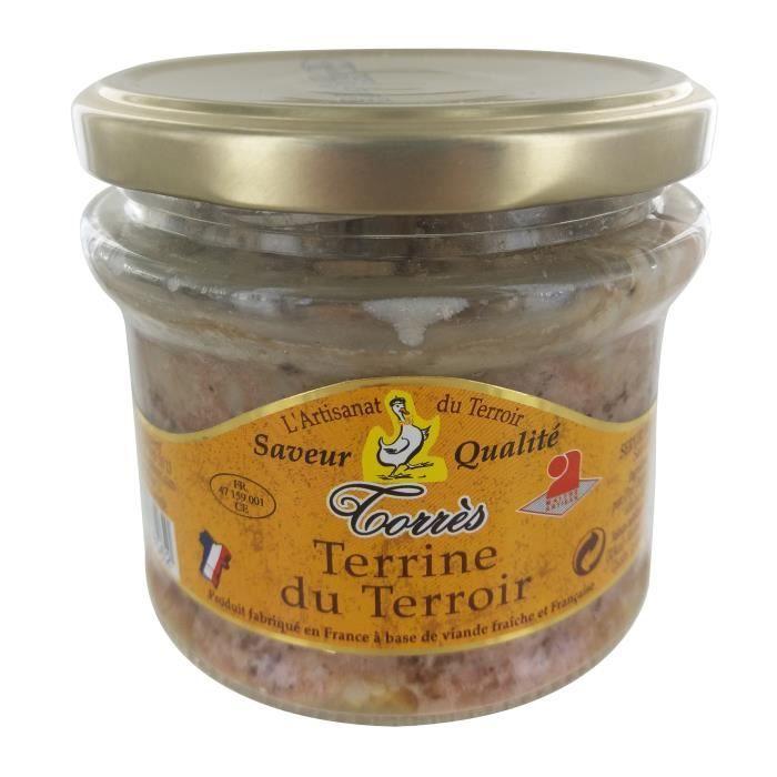 TORRES ET FILS Terrine du Terroir en bocal 180g