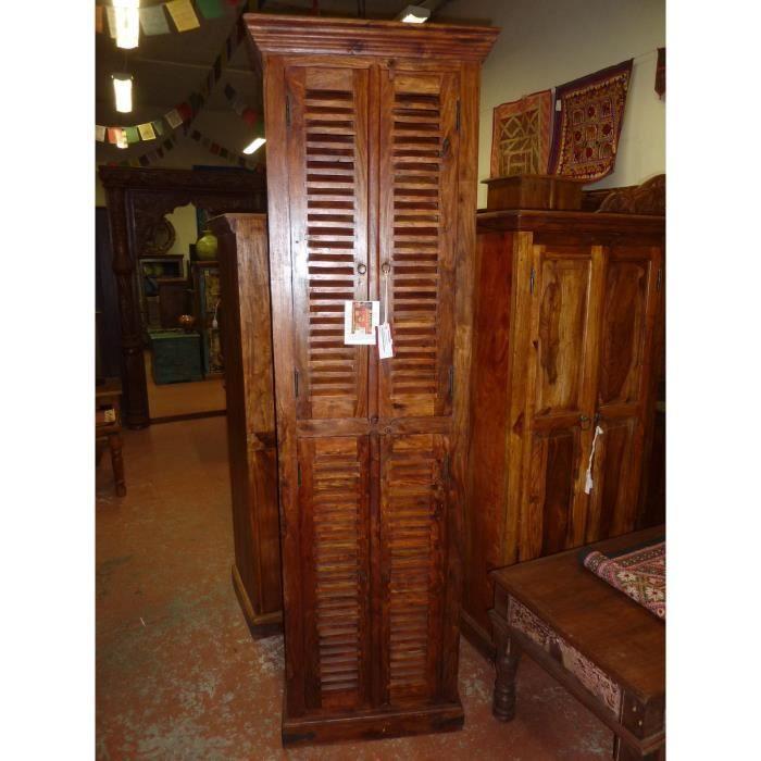 Armoire colonne 4 portes salle de bain Achat Vente colonne