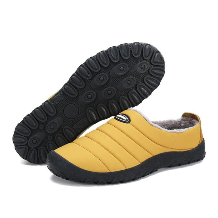 Coton Chaussures Hiver Léger Antidérapant Confortable Homme Mocassin Coton Nouvelle Mode Mocassins Garde Au Chaud Haut qualité 39-46