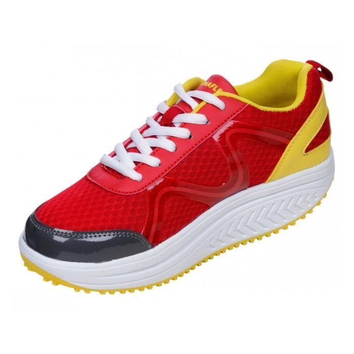 Shoes Drainaflex Active Balancing Marche Basket Jaune Semelle zZPgnq