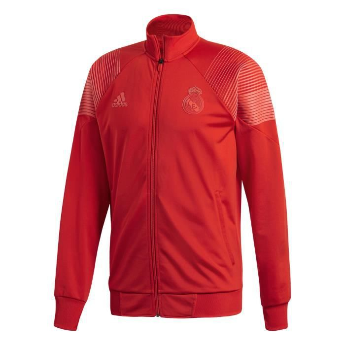 19 Rouge Homme 2018 Adidas Real Madrid Veste Icon sQdChrtx