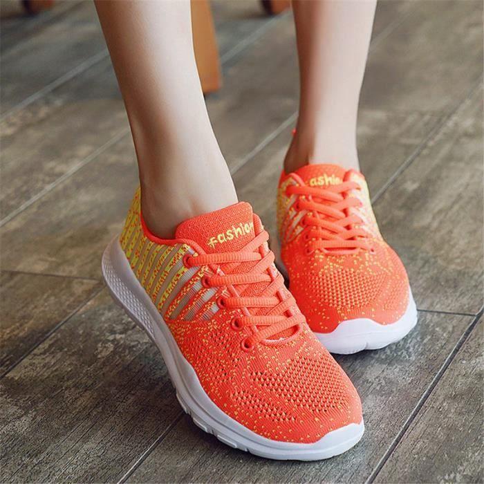 Femme Marche Baskets Pour En Plein Air Chaussures De roeCxdB